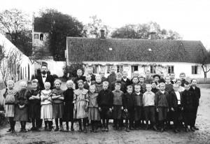 Strøby skole 1910